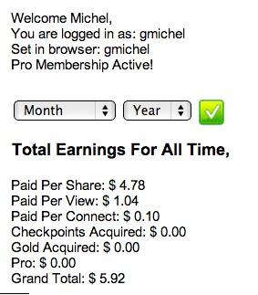 UVioO earning 3 days