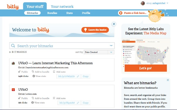 bitly tutorial