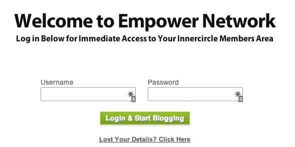 Empower Network login
