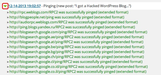 WordPress Ping Optimizer
