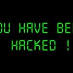 hacked WordPress blog