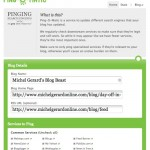 Ping your Blog Free - Pingomatic