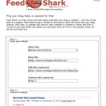 Ping your Blog Free - Feed Shark