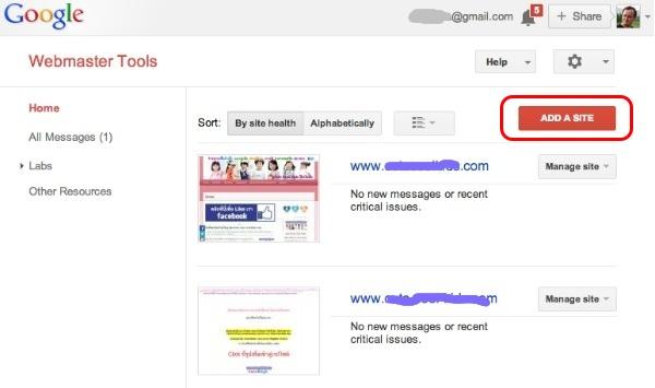 Blog Beast - Webmaster Tools