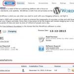 WordPress Softaculous Installation