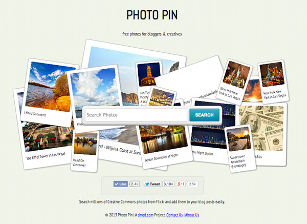 How to use PhotoPin to get your blog images