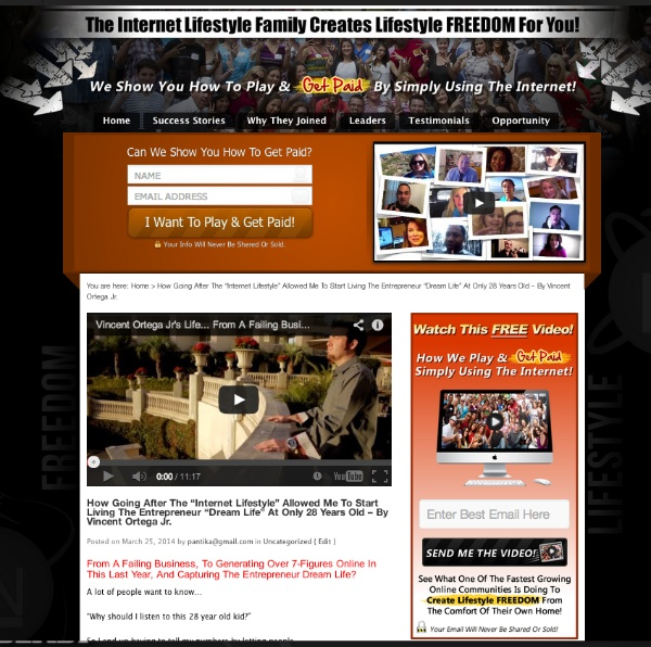 Internet Lifestyle Network blog ~ customized blog