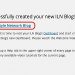Internet Lifestyle Network blog ~ blog created