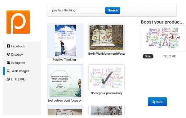 PostCron ~ Google image search