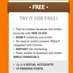 Postcron free