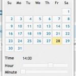 PosCron post - calendar