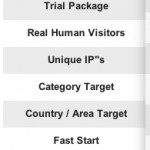 Human Targeted Web Traffic - FWtraffic Order page