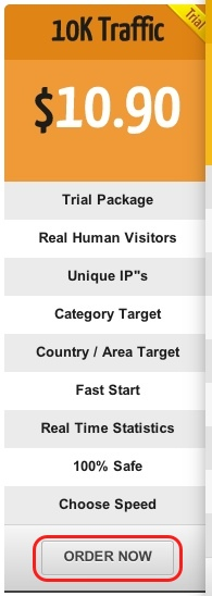 Human Targeted Web Traffic - FWtraffic Trial Package