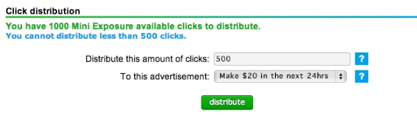 How to Advertise on Neobux - allocate credits