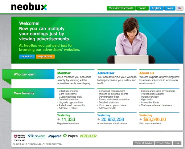 How to Advertise on Neobux