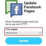 IFTTT - FaceBook activation