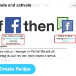 IFTTT - automate your Social Media marketing