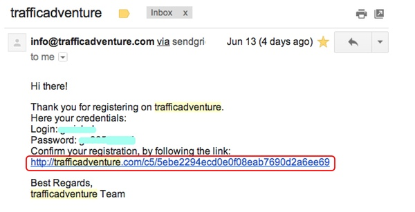 TrafficAdventure email