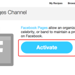 ifttt fb page activate