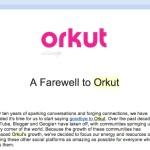 orkut farewell